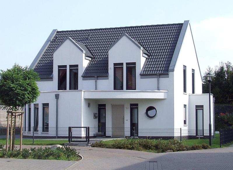 hausbau villen einfamilienhaus landhaus in niedersachsen arge haus minden. Black Bedroom Furniture Sets. Home Design Ideas