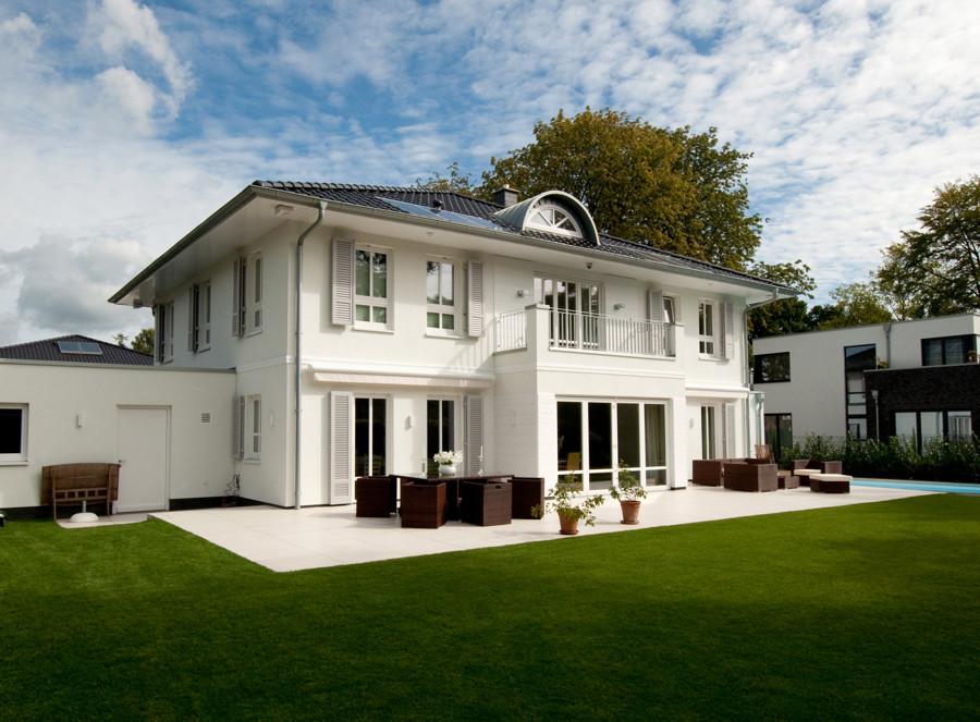 Hausbau villen einfamilienhaus landhaus in niedersachsen for Villen bauen